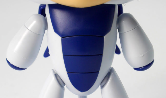 HGPGプチッガイ きゃらっがい ギャン子の胴体のガンプラレビュー画像です