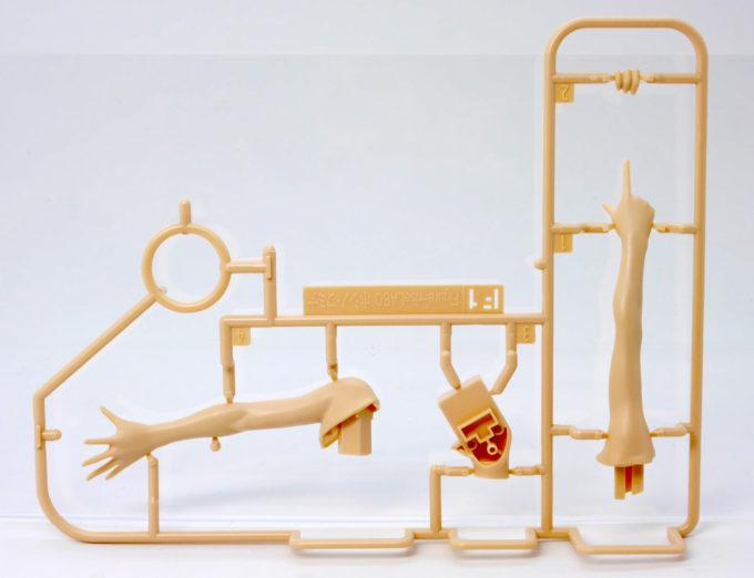 フィギュアライズラボのホシノ・フミナの腕ランナーの画像です