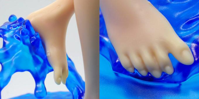 フィギュアライズラボのホシノ・フミナの足の指の画像です