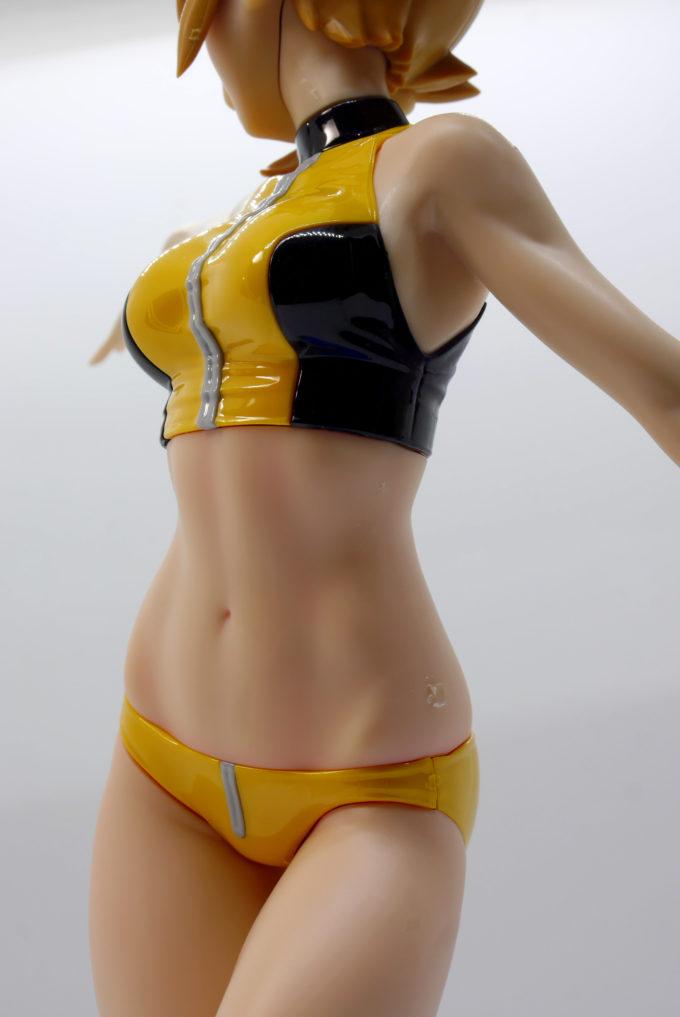 フィギュアライズラボのホシノ・フミナのアスリートのような健康美の身体の画像です