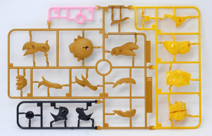 フィギュアライズラボのホシノ・フミナのつや消しされていないランナー画像です