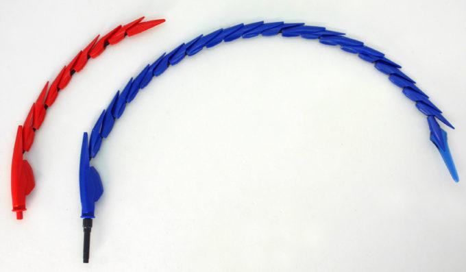 煌・ギラーガとギラーガのギラーガテイル(尻尾)の違い・比較画像です