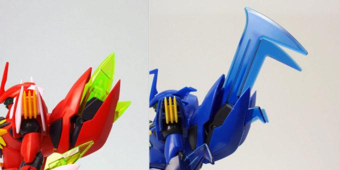 煌・ギラーガとギラーガのギラーガビットの違い・比較画像です