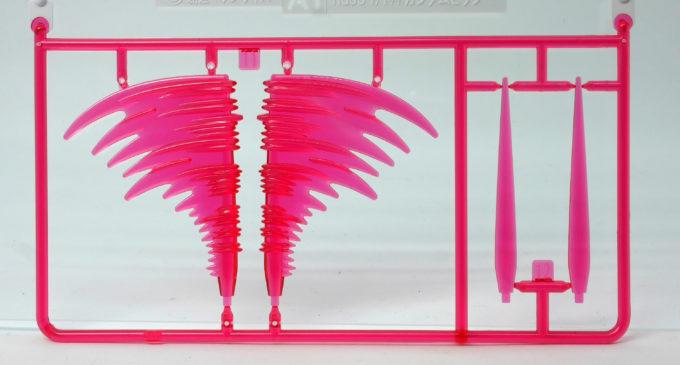 ビーム・ダガーのビームエフェクトパーツのガンプラレビュー画像です