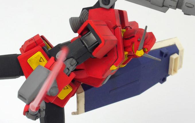 HGヘビーガンダム(イングリッド0専用機)の改造ガンプラ(塗装)画像です
