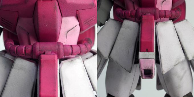 ヤクト・ドーガ ソーンの改造・作り方のガンプラレビュー画像です
