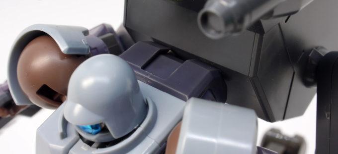 HGBDリーオーNPDにティルトローターパックを装備させたガンプラレビュー画像です