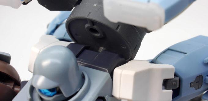HGBDリーオーNPDにプトレマイオスアームズを装備させたガンプラレビュー画像です