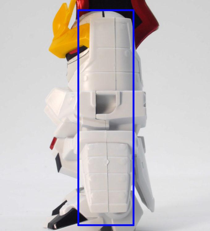 嵐の騎士トールギスのガンプラレビュー画像です