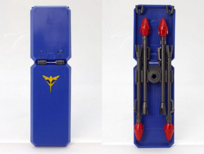 HGUCギラ・ドーガ(レズン・シュナイダー専用機)のガンプラレビュー画像です