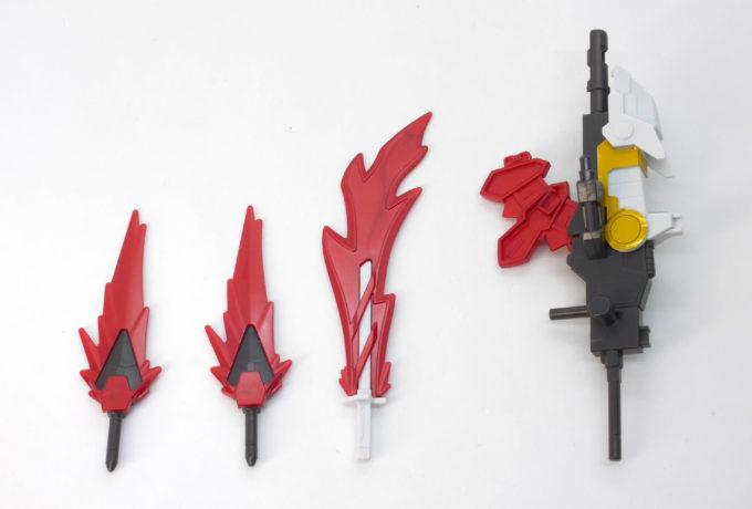 RX-零丸の武装一覧のガンプラレビュー画像です