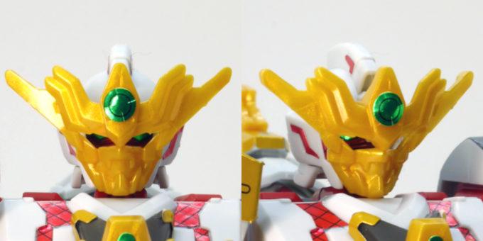 RX-零丸のリアル体型のガンプラレビュー画像です