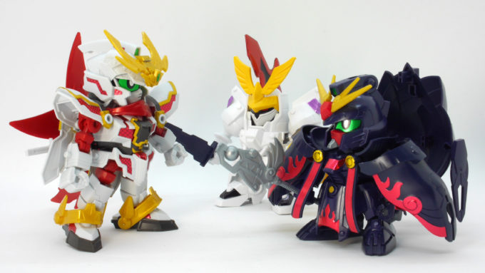 le chat noir(黒猫団)のSDガンプラ画像です