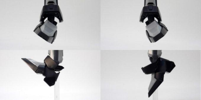 HGストライクノワールガンダムのガンプラレビュー画像です