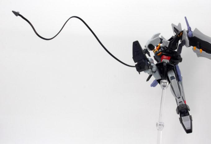 HGストライクノワールガンダムのアンカーランチャーの画像です