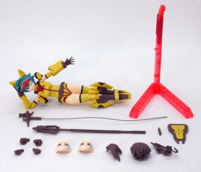 Figure-rise-Standardダイバーナミの付属品画像です