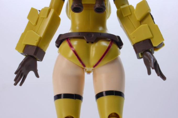 Figure-rise-Standardダイバーナミのお尻のガンプラレビュー画像です