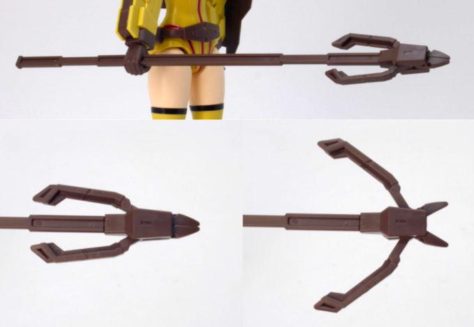 Figure-rise-StandardダイバーナミのUニッパージャベリンのガンプラレビュー画像です