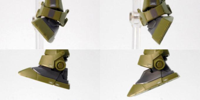 HGジム・スナイパーカスタムのガンプラレビュー画像です