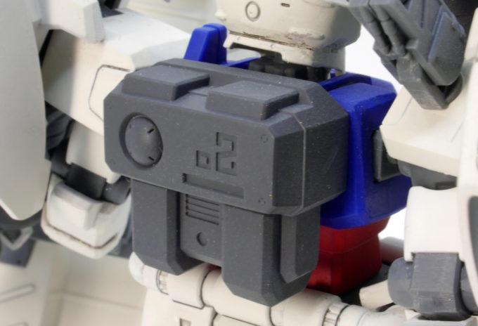 HGUCガンダム試作2号機GP02サイサリスのガンプラレビュー画像です