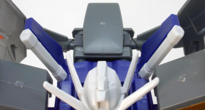 HGガンダムジェミナス01のガンプラレビュー画像です