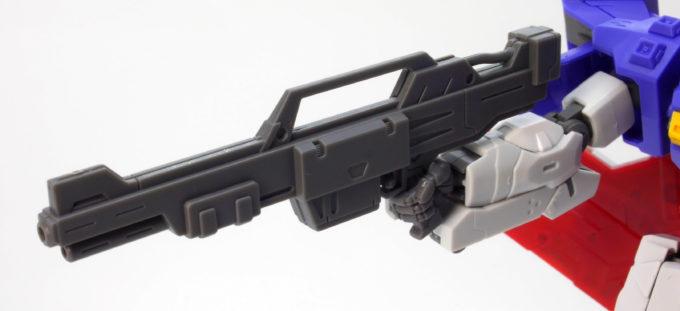 HGUCムーンガンダムのビーム・ライフルのガンプラレビュー画像です
