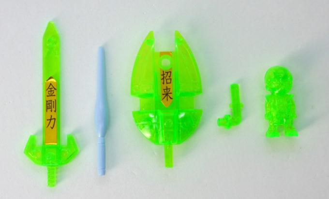 武者ガンダムマークIVのガンプラレビュー画像です