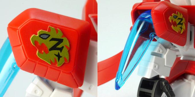 陸遜(りくそん)ゼータプラスのガンプラレビュー画像です