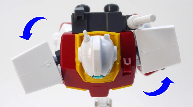 HGUCジムII(ジム2)のガンプラレビュー画像です