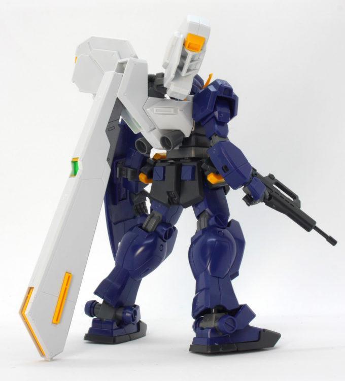 HGUCガンダム TR-1[ヘイズル2号機]のガンプラレビュー画像です