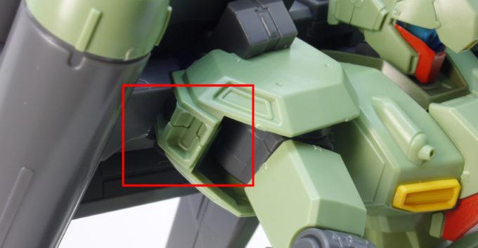 HGUCスタークジェガン(CCA-MSV Ver.)のガンプラレビュー画像です