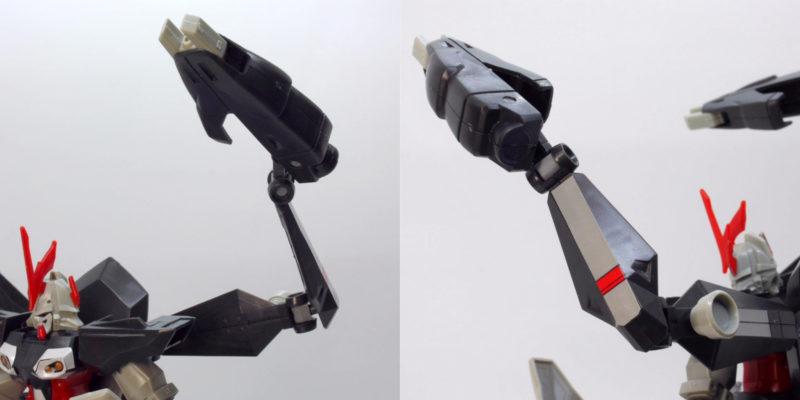 HGハイドラガンダムのガンプラレビュー画像です