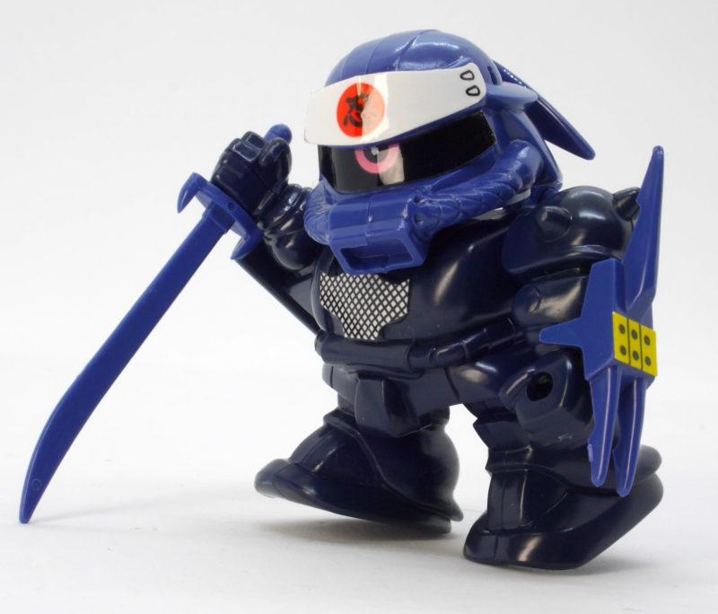 BB戦士影忍者シャザクのガンプラレビュー画像です