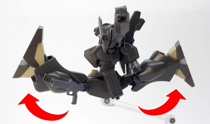 HGUCジェガン(エコーズ仕様)コンロイ機のガンプラレビュー画像です