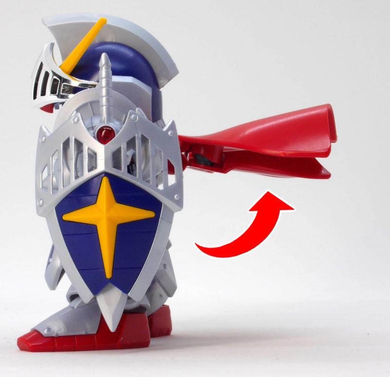 LEGENDBB(レジェンドBB)騎士ガンダム(ナイトガンダム)のガンプラレビュー画像です