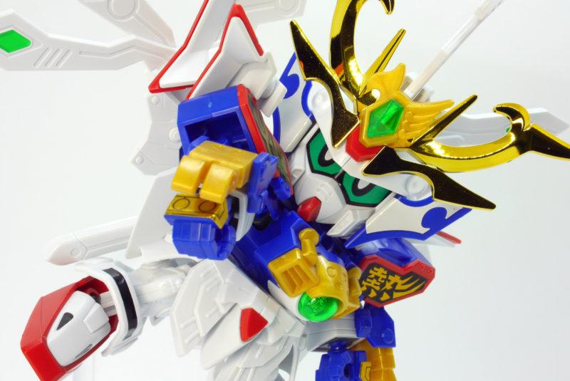LEGENDBB(レジェンドBB)武者號斗丸(むしゃゴッド丸)のガンプラレビュー画像です