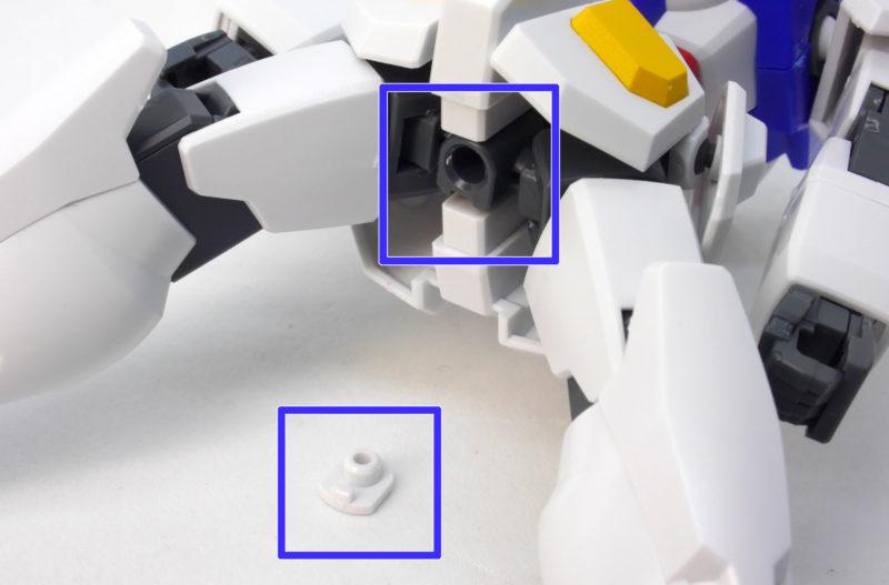 HG0ガンダム(Oオーガンダム)実戦配備型のガンプラレビュー画像です