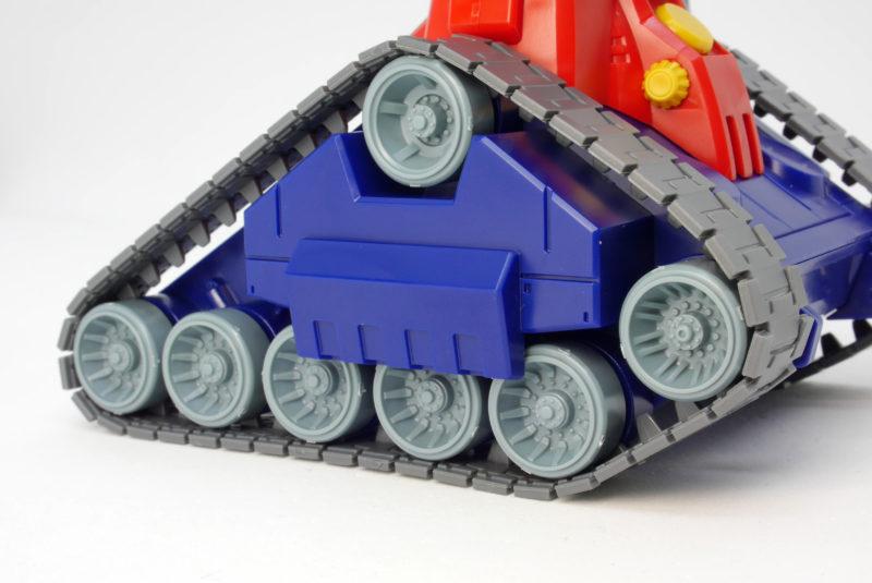 HGUCガンタンクのガンプラレビュー画像です
