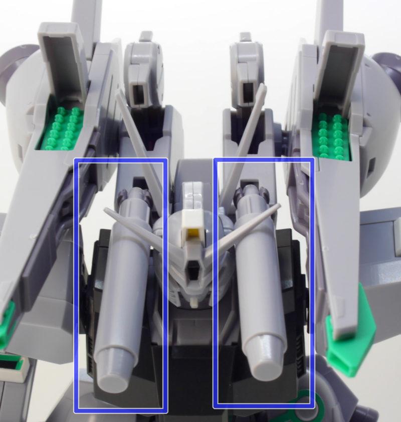 HGUCシルヴァ・バレト(ガエル・チャン専用機)のガンプラレビュー画像です