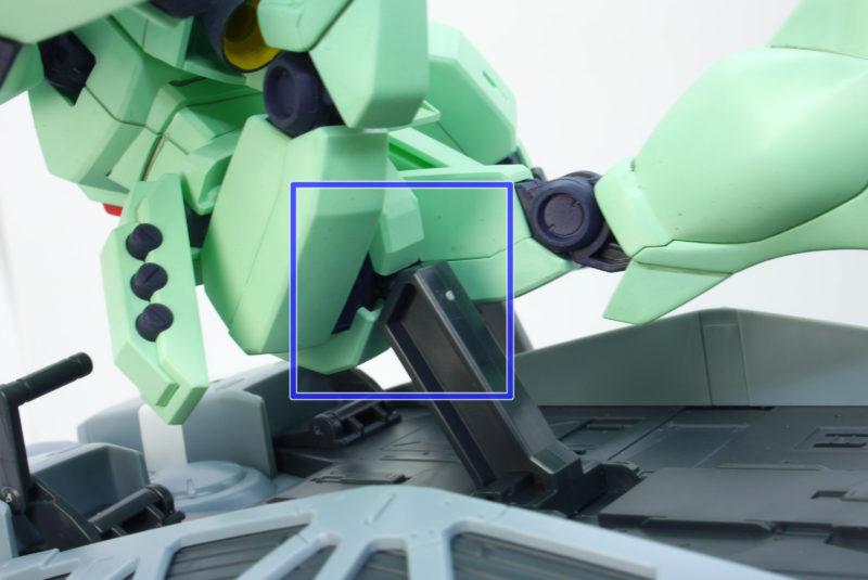 HGUC89式ベースジャバーのガンプラレビュー画像です