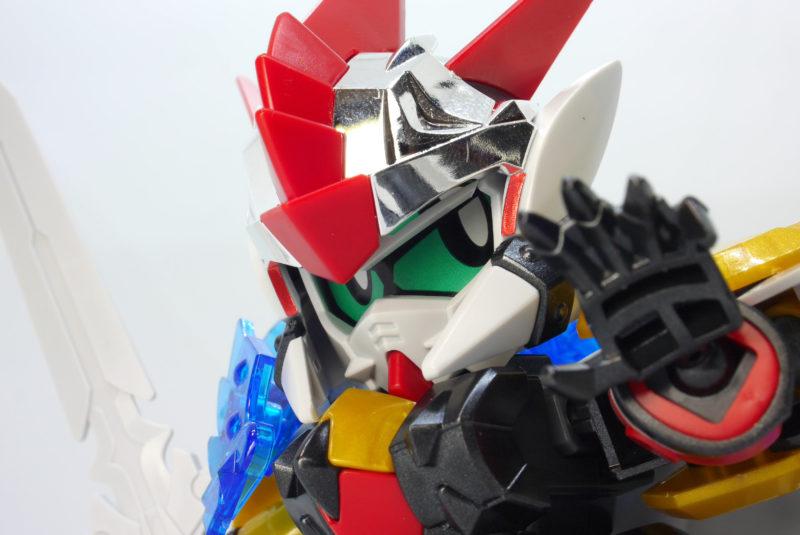 LEGENDBB(レジェンドBB)魔竜剣士ゼロガンダムのガンプラレビュー画像です