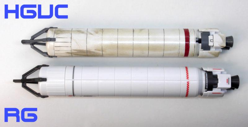 RGフルアーマーユニコーンガンダムのガンプラレビュー画像です