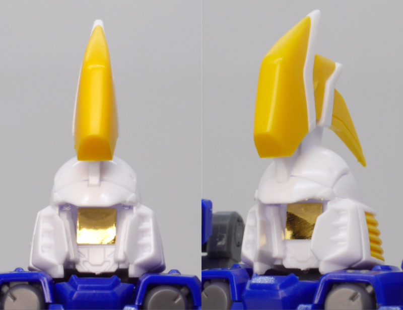 RGトールギスII(トールギス2)のガンプラレビュー画像です