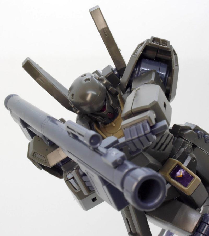 HGUCジェガンD型(護衛隊仕様)のガンプラレビュー画像です