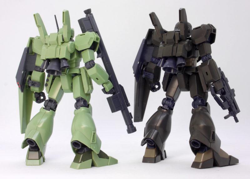 HGUCジェガンD型と護衛隊仕様の違い・比較のガンプラレビュー画像です