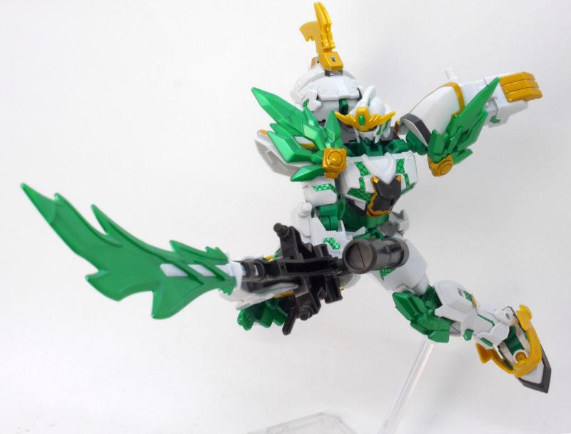 神気結晶の忍闘-道のガンプラレビュー画像です