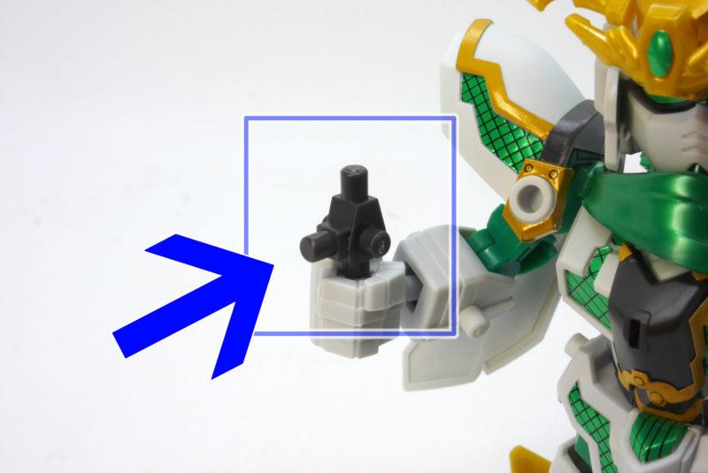 SDBD-RX-零丸(神気結晶)のガンプラレビュー画像です