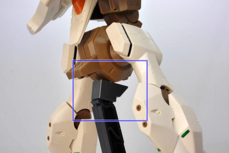 HGエルフ・ブルック(マスク専用機)のガンプラレビュー画像です