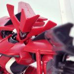 【ガンプラ】HG サーシェス専用AEUイナクトカスタム(アグリッサ型)レビュー