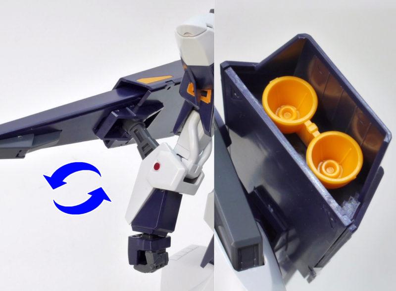 HGUCギャプランTR-5フライルーのガンプラレビュー画像です